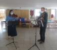Besuch der Musiklehrer